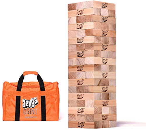 Strap Stacking Bar - Jenga Giant JS7 Hardwood Game (Stacks to 5+ feet. Ages 12+)