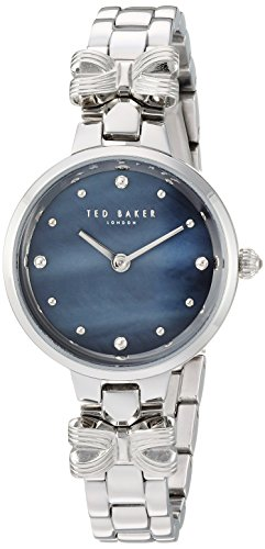 Ted Baker Women's 'AMY' Quartz Stainless Steel Casual Watch, Color:Silver-Toned (Model: TE50007003)