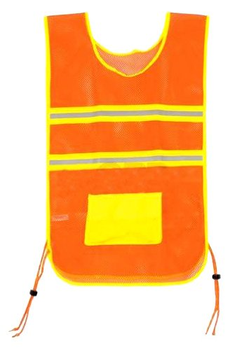 Aardvark Deluxe Reflective Vest, Orange