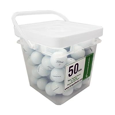 50 Titleist Pro V1 392 Aaaaa Mint Used Golf Balls In Free Bucket