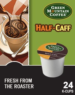 k cups green mountain half caff - 4