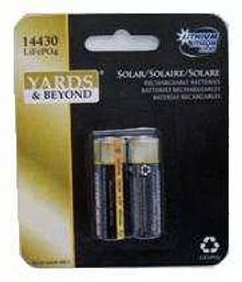 Solar Rechargeable Battery Pack - 8