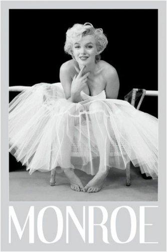 Pyramid America Marilyn Monroe-Ballerina, Movie Poster Print, 24 by - Monroe Card Poster Marilyn