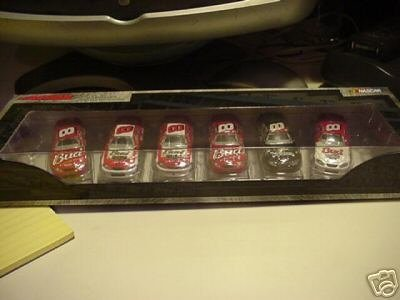 Dale Earnhardt Jr #8 Six Car Set Action 1/64 2004 Paint Schemes Budweiser Born On 7 Feb Born On 15 Feb With Red Left Front Wheel Fathers Day Dave Matthews Band World Series