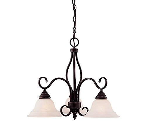 (Savoy House KP-100-3-13 Three Light Chandelier)