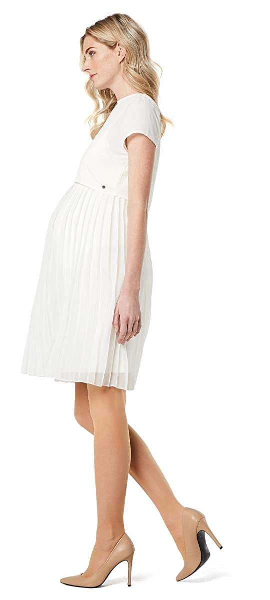 Trap/èze Robe sp/écial Grossesse Femme Blanc Blanc ESPRIT Maternity