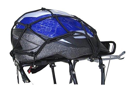 UPANBIKE Bike Carrier Cargo Net 11.811.8 Motorcycle Bike 6 Hooks Hold Down Bungee Stretch Web Mesh Gas Luggage Helmet UPANTECH