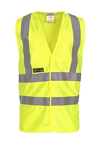 Gilet, 98/% polyester//2/% antistatique, taille L//XL, Jaune Hydrowear 067280/FY Mably