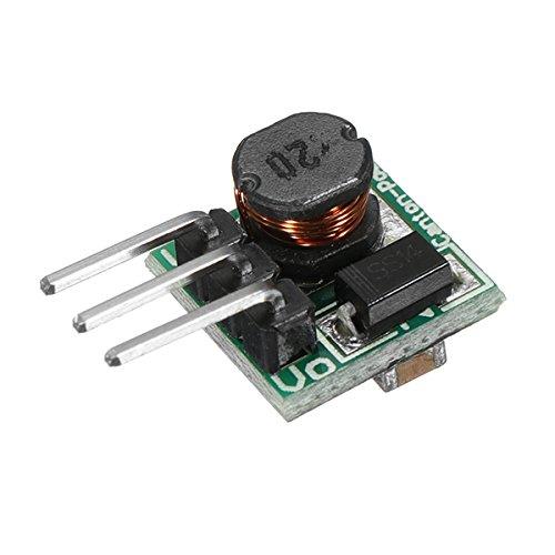 Ils - 0.9-5V a 5V DC-DC Amplificador de Potencia Boost Converter Board 1.5V 1.8V 2.5V 3V 3.3V 3.7V 4.2V a 5V I LOVE SHOPPING