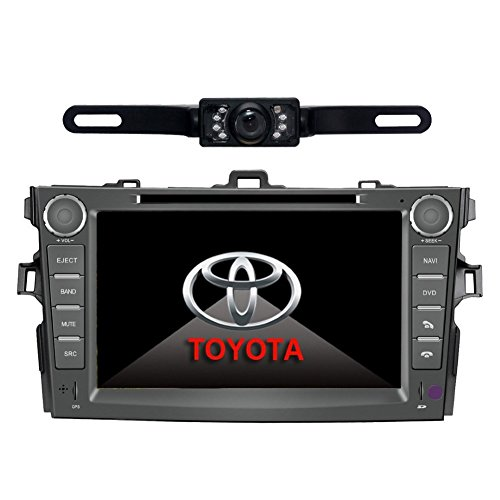 Car Stereo For TOYOTA Corolla (support year 2007 2008 2009 2010) 8 inch Indash CAR DVD Player GPS Navigation Navi iPod Bluetooth Rear Camera HD Touchscreen Radio RDS FM PIP Free Map CD8963R by EinCar
