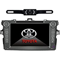 Car Stereo For TOYOTA Corolla (support year 2007 2008 2009 2010) 8 inch Indash CAR DVD Player GPS Navigation Navi iPod Bluetooth Rear Camera HD Touchscreen Radio RDS FM PIP Free Map CD8963R