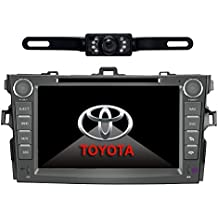 Car Stereo For TOYOTA Corolla (support year 2007 2008 2009 2010) 8 inch Indash CAR DVD Player GPS Navigation Navi...