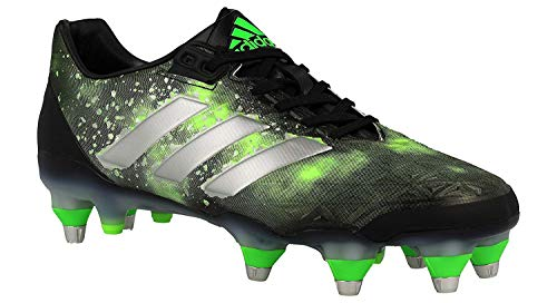 Homme Adipower vert Adidas Kakari Fluo Chaussures Rugby Sg De Noir argent WYzgnqAFz