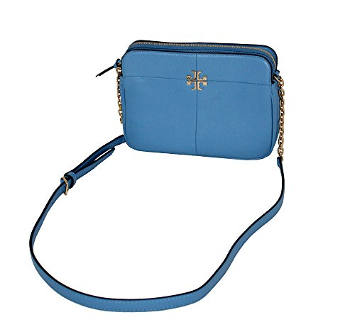 Leather Ivy Montego Crossbody TORY Bag Blue BURCH Women's TwEfUvq