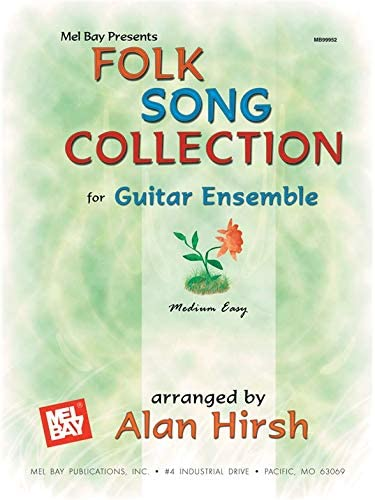 Folk Song Collection for Guitar Ensemble. Partituras para Guitarra ...