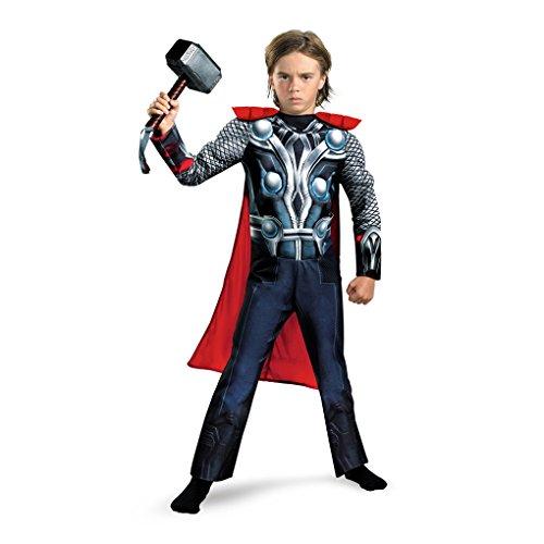 [Avengers Thor God of Thunder and Lightning Child Costume (Large)] (Thunder Lightning Costume)