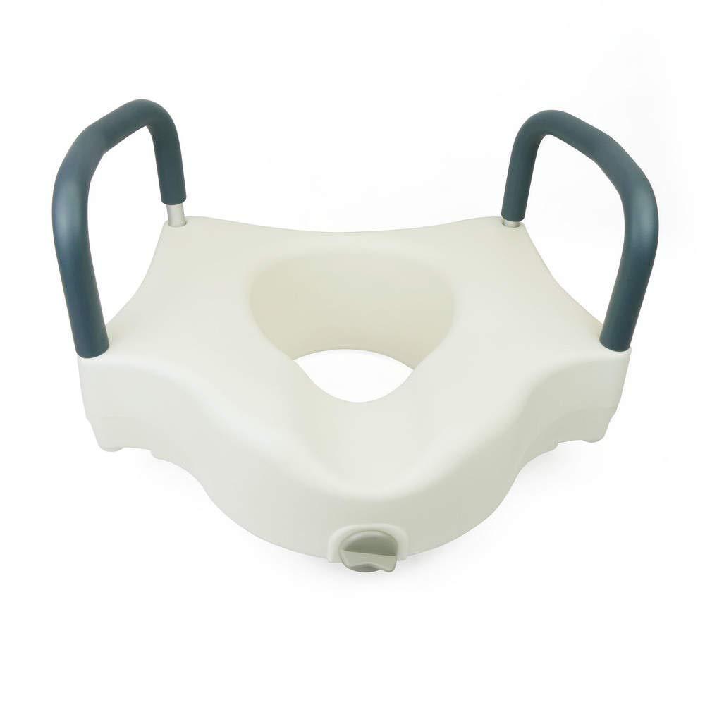 PrimeMatik - Rehausseur de Toilettes avec accoudoirs pour WC PrimeMatik.com PN15061610440128800