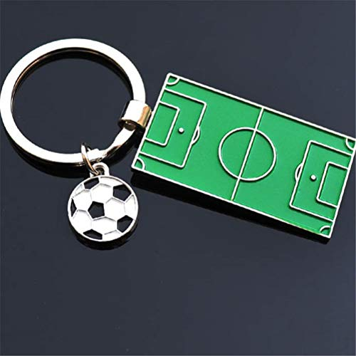 Gift Lot - Est Football Field Keychains Metal Keyrings Mini Court Gifts - Indian Race Hats Cars Glow Birthday Favors Airplanes Under Women Rainbow Elephant Value Dogs Treasure Sweet -