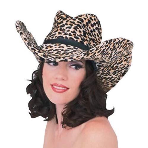 Rubie's Costume Co Print Cowboy Hat-Leopard Costume]()