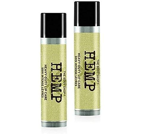 El cuerpo Shop cáñamo labios care-hemp balm-hemp de labios pintalabios 4.2 g – Pack de 2: Amazon.es: Belleza
