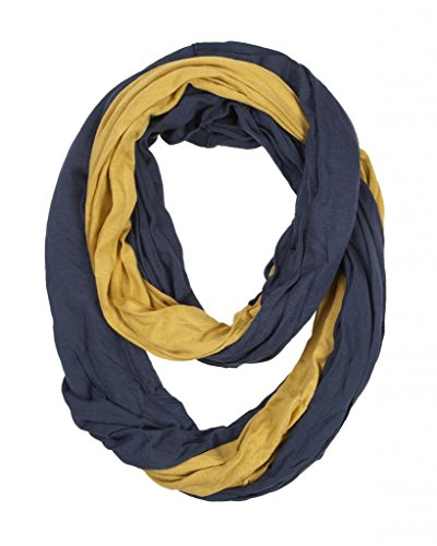 Game-Day-College-Pro-High-School-Team-Infinity-Circle-Scarf-Navy-Blue-Gold