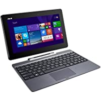 ASUS Transformer Book T100TAF-B14-GR 2-in-1 Tablet Intel Atom Z3735F (1.33 GHz) 32 GB eMMC Intel HD Graphics Shared memory 10.1 Touchscreen Windows 8.1(Certified Refurbished)