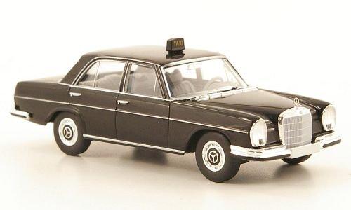 Brekina Starmada 1:87 schwarz Modellauto Taxi W108 Fertigmodell Mercedes 280 SE