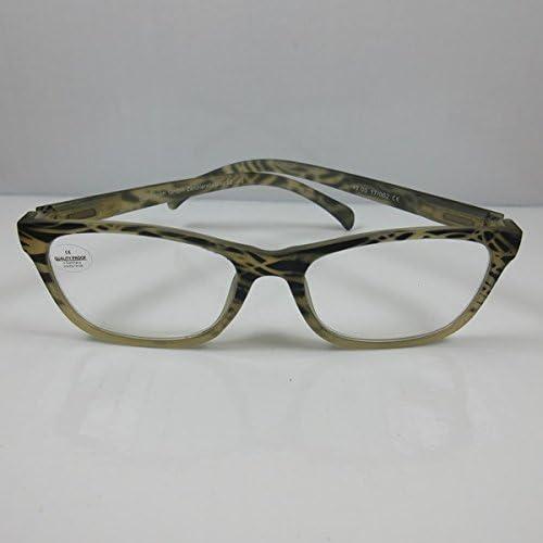 SCHILDGEN Klassieke leesbril Design3 veerbeugel leeshulp U HN kantenklare bril 25