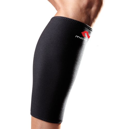 McDavid 441 Deluxe Calf Sleeve (Black,Large)