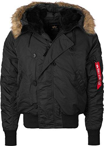 Alpha Industries Men Jackets/Winter Jacket N2B Black