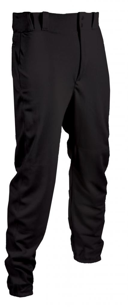 タグYouth Baseball Pant withベルトループゴム( Bottoms ) B00TBSIGM6 Large|ブラック ブラック Large