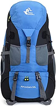 Colour-Store 50L Hiking Backpack Waterproof Mountaineering backpack Daypack Outdoor Camping Climbing Backpack