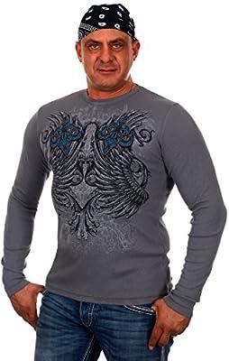 Men's MMA Elite Long Sleeve Thermal Style Shirt
