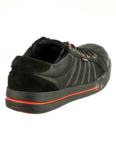 Redbrick S3 Sicherheitsschuhe Ruby Sneaker 47 Schwarz