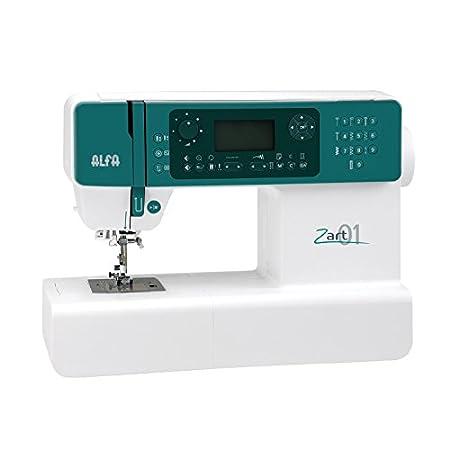 Alfa ZART01-Maquina de Coser electrónica, Blanco: Amazon.es ...