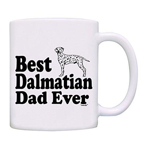 Mug Best Dalmatian Dad Ever Coffee Mug-0091-White