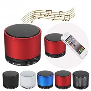FNB CHINA Mini BeatBox - Altavoz portátil Bluetooth para Smartphone, rojo (importado)