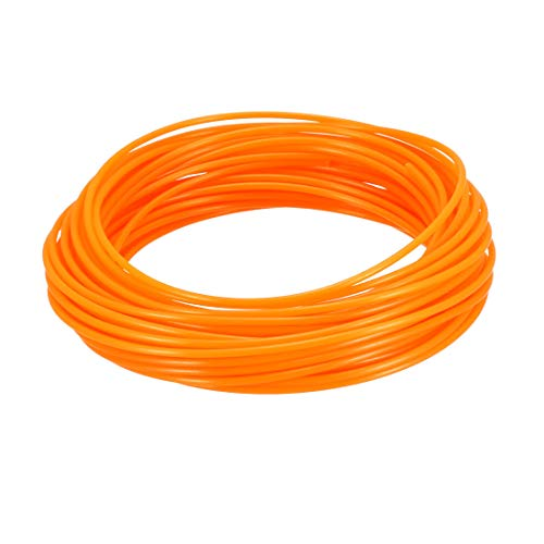 uxcell 3D Pen Filament Refills32.5Ft1.75mm PLA 3D Printer RefillsDimensional Accuracy +/- 0.02mmFluorescent Orange