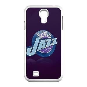 Utah Jazz Logo Samsung Galaxy S4 9500 Cell Phone Case White phone component RT_234915