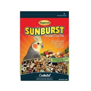 Higgins 466184 Higg Sunburst Food for Tiel, 25-Pound by Higgins