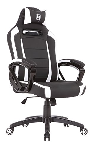 41Jmqrfn9dL - N Seat PRO 300 Series Racing Bucket Seat Office Chair Gaming Chair Ergonomic Computer Chair eSports Desk Chair Executive Chair Furniture With Pillows, 360 degrees of rotation