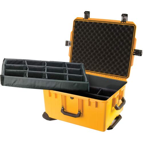 iM2750 Storm Trak Case with Padded Dividers (Yellow) [並行輸入品] B07MJYR88W
