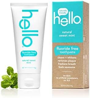 Toothpaste: Hello Fluoride Free