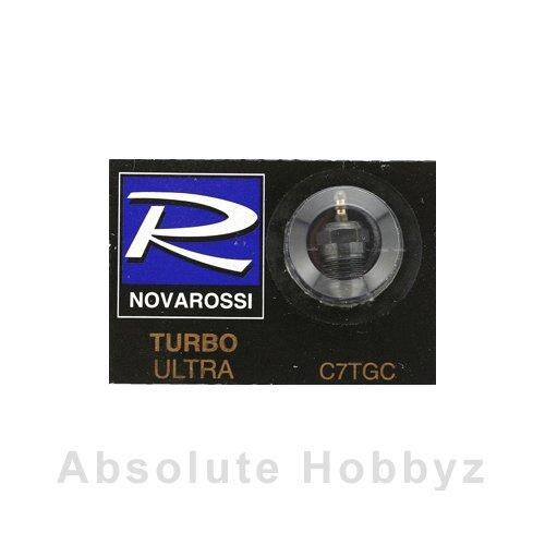 Novarossi Turbo #7 Long Body Ultra Glow Plug (Cold) (Cold Plug Glow)