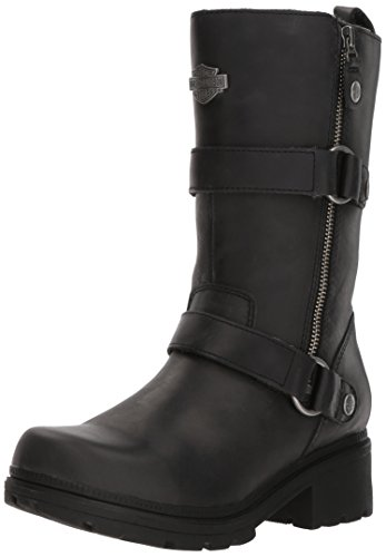 Harley-Davidson Women's Ardsley Motorcycle Boot, Black, 10 Medium US