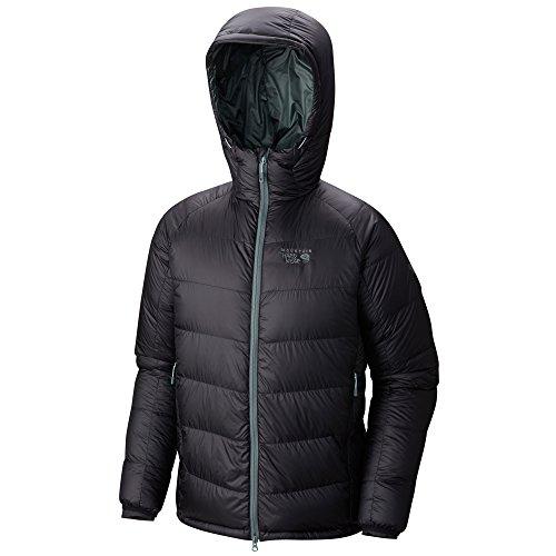 Ripstop Hooded Down Jacket (Mountain Hardwear Phantom Hooded Down Jacket - Men's Black)