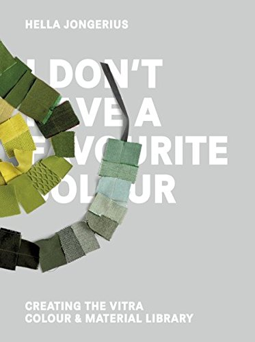 I Don't Have a Favourite Colour by Gestalten
