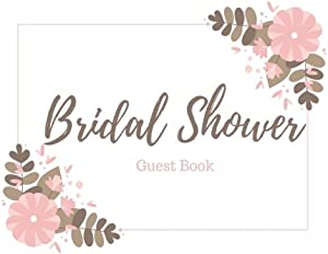 Sweepstakes: Bridal Shower Guest Book: Gift Recorder