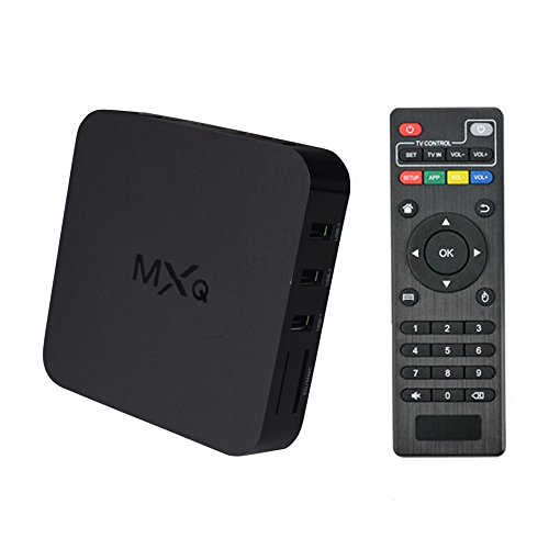 MX Android 4.4.2 Amlogic Quad Core HDMI 1080P WiFi Smart TV Box Streaming Media Player by AMALE
