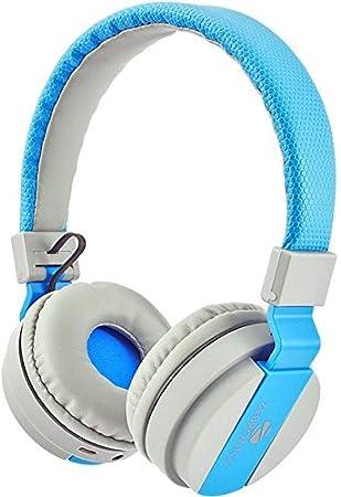 Zebronics over the Ear Wireless Bluetooth Headphones  Blue  Over Ear